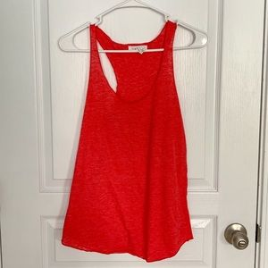 💙3/$12 Forever 21 Red Heathered Racerback Tank
